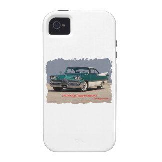 Cargador Daytona de 1968 Dodge Vibe iPhone 4 Fundas