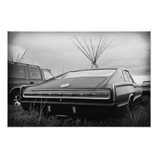 Cargador de 1966 Dodge (B/W) Fotografía