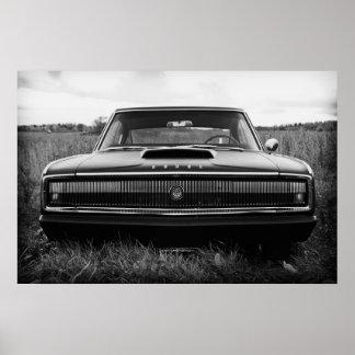 Cargador de 1966 Dodge Posters