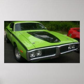 Cargador de 1973 Dodge Impresiones
