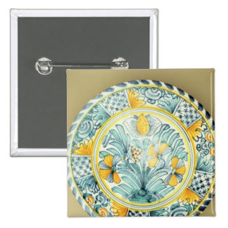 Cargador de Bluedash Delftware, cerámica de Lambet Pin Cuadrada 5 Cm