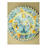 Cargador de Bluedash Delftware, cerámica de Postal