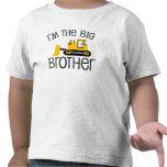 Cargador del frente de la construcción de hermano  camisetas