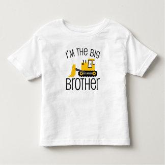 Cargador del frente de la construcción de hermano playera de bebé