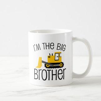 Cargador del frente de la construcción de hermano  tazas de café