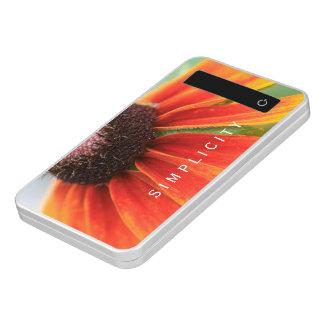 Cargador del teléfono del amarillo anaranjado del batería portátil
