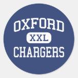 Cargadores Oxford media Mississippi de Oxford Etiquetas Redondas