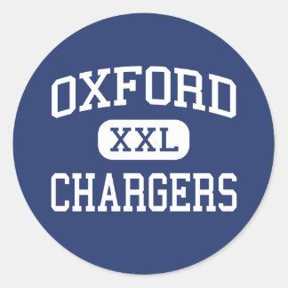 Cargadores Oxford media Mississippi de Oxford Pegatina Redonda