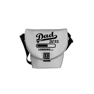Cargamento 2015 del papá bolsa messenger