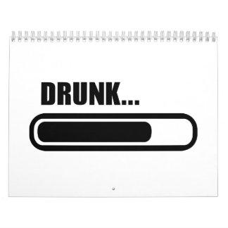 Cargamento borracho calendarios