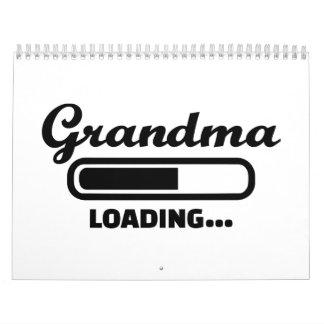 Cargamento de la abuela calendarios de pared