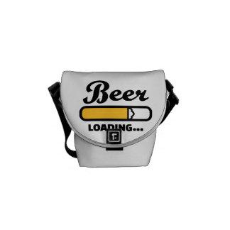 Cargamento de la cerveza bolsa de mensajeria