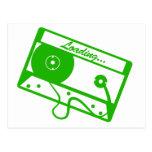 Cargamento de la cinta - videojugador, friki, postal