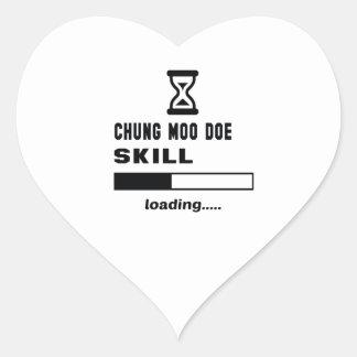 Cargamento de la habilidad de la gama del MOO de Pegatina En Forma De Corazón
