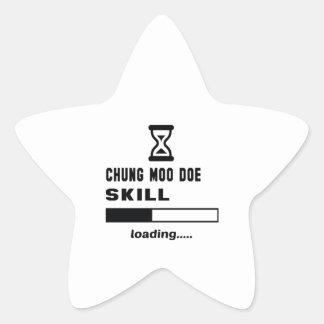 Cargamento de la habilidad de la gama del MOO de Pegatina En Forma De Estrella