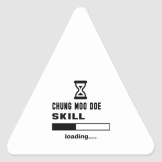 Cargamento de la habilidad de la gama del MOO de Pegatina Triangular