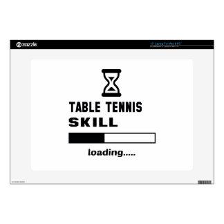 Cargamento de la habilidad de los tenis de mesa calcomanía para 38,1cm portátil