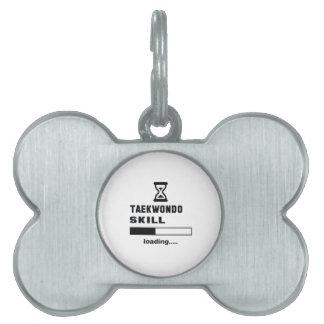 Cargamento de la habilidad del Taekwondo ...... Placa Mascota