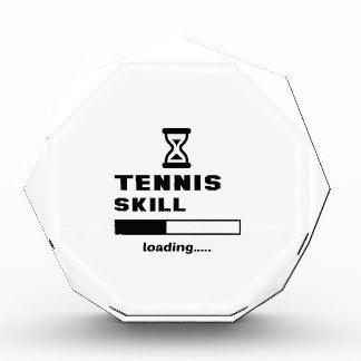 Cargamento de la habilidad del tenis ......