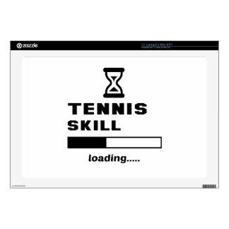 Cargamento de la habilidad del tenis ...... portátil calcomanías