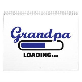 Cargamento del abuelo calendarios