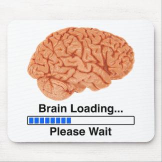 Cargamento del cerebro tapetes de raton