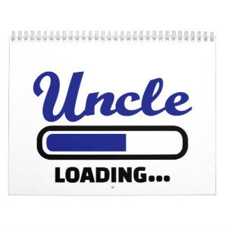 Cargamento del tío calendario