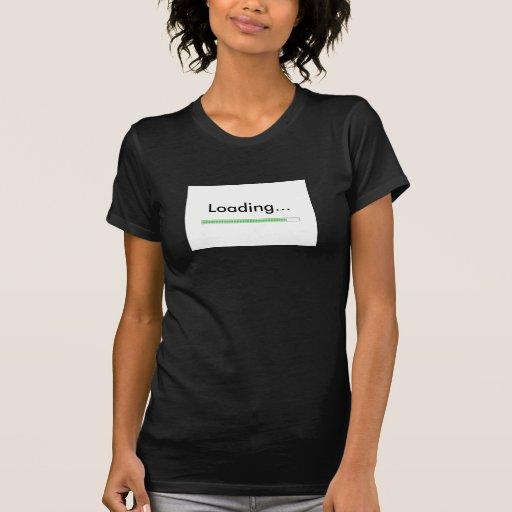 """""""Cargando…"""" con la novedad de la barra de Camisetas"""