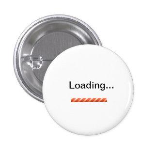 """""""Cargando…"""" con la novedad de la barra de situació Pin Redondo 2,5 Cm"""