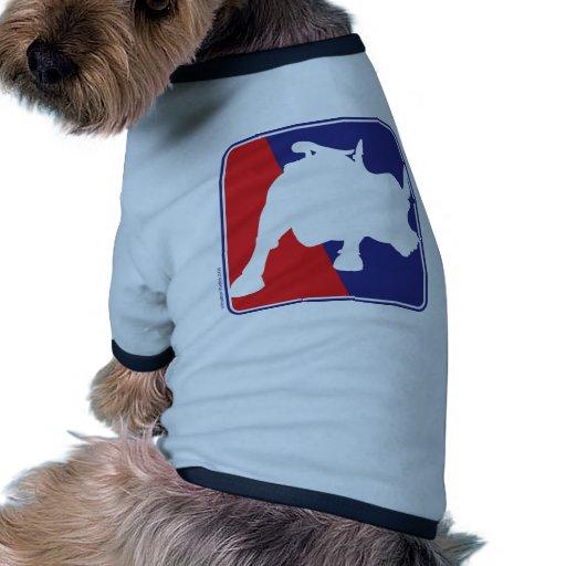 cargar-toro camisa de mascota