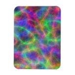 Cargas eléctricas del arco iris de la luz imán flexible