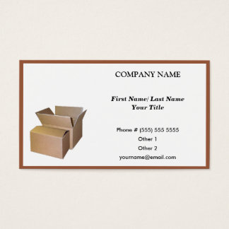CARGO Business Card