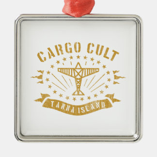 Cargo Cult, Big Man Metal Ornament