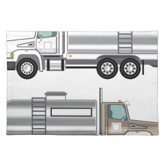 Cargo del líquido del camión de la cisterna mantel individual