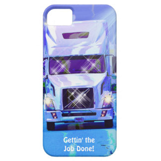 Cargo Hauling Freight Truck Driver's iPhone 5 Case