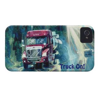 Cargo Hauling Tanker Truck Driver's iPhone 4 Case