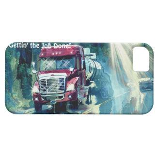Cargo Hauling Tanker Truck Driver's iPhone 5 Case