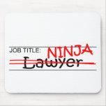Cargo Ninja - abogado Tapetes De Raton