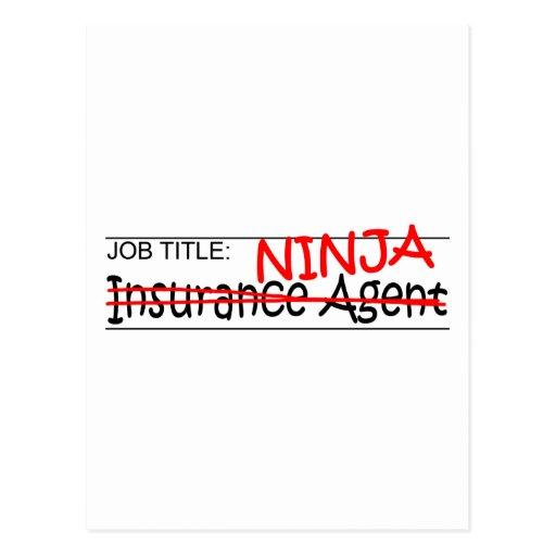 Cargo Ninja - agente del Ins Postales