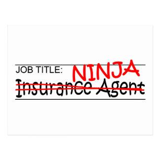 Cargo Ninja - agente del Ins Tarjeta Postal