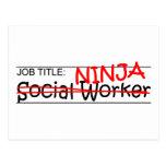 Cargo Ninja - asistente social Postal