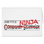 Cargo Ninja - comp Sci Felicitaciones
