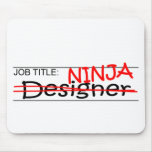 Cargo Ninja - diseñador Tapetes De Raton