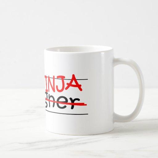 Cargo Ninja - diseñador Taza