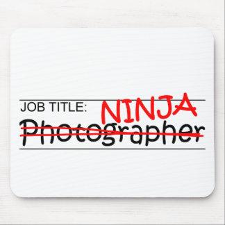 Cargo Ninja - fotógrafo Tapetes De Raton