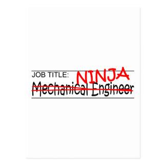 Cargo Ninja - inglés Mech Postales