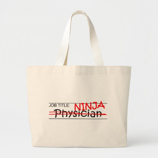 Cargo Ninja - médico Bolsa Tela Grande