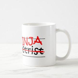 Cargo Ninja - optometrista Taza De Café
