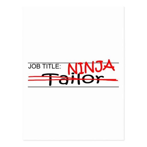 Cargo Ninja - sastre Tarjetas Postales
