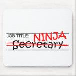 Cargo Ninja - secretaria Tapetes De Ratón